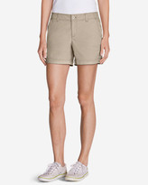 Eddie Bauer Women's Willit Poplin Shorts - Herringbone