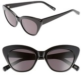 Elizabeth and James Women's Vale 52Mm Cat Eye Sunglasses - Crystal Tea