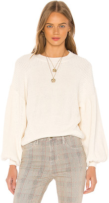 Frame Chunky Balloon Sleeve Sweater
