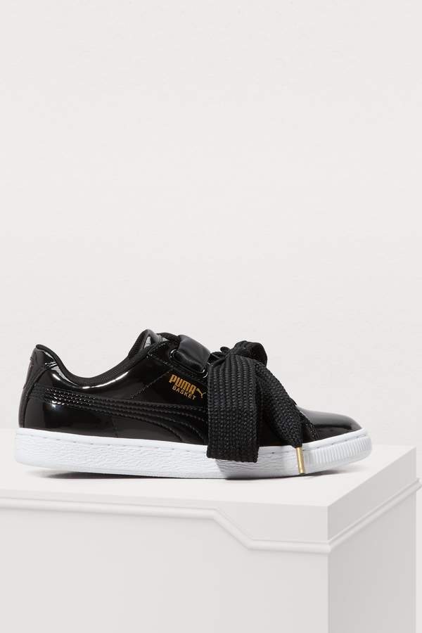 pretty nice d1f25 92635 Heart patent leather sneakers