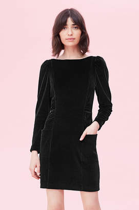 Rebecca Taylor La Vie Velour Dress