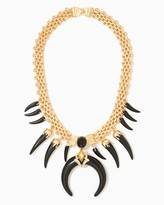 Charming charlie Exotic Horn Statement Necklace