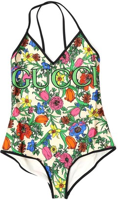 Gucci Floral Print Swimsuit