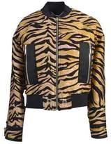 Kenzo Women's Multicolor Wool Outerwear Jacket.