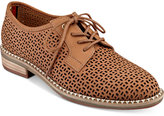 Tommy Hilfiger Raenay Perforated Lace-Up Oxfords