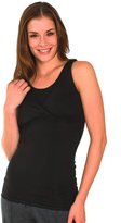Majamas Extra-Long Reverse Cami - Black - Small