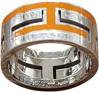 Hermã ̈S HermAs Orange Silver Rings
