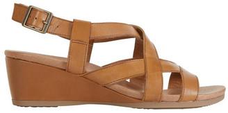 Wide Steps Miriam Cognac Glove Sandal