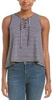 Ocean Drive Lace-up Tank.
