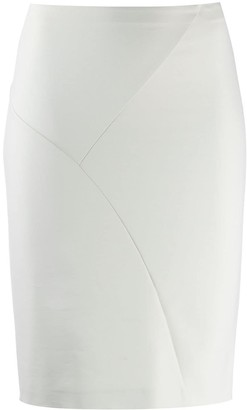 Patrizia Pepe High-Waisted Fitted Skirt