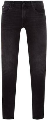 Versace Logo Pocket Skinny Jeans