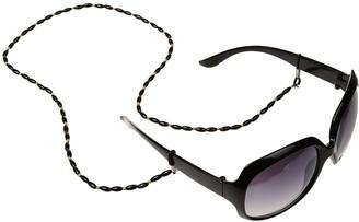 chiwanji Beauty Sunglasses Eyewear Reading Glasses Band Beaded Chain Neck Cord Strap - Black