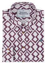 Vivienne Westwood Zig-zag Print Formal Shirt