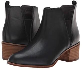 Dr. Scholl's Amara - Original Collection (Black Leather) Women's Shoes