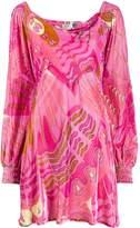 Rixo Mary psychedelic-butterfly dress