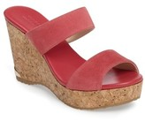 Jimmy Choo Women's Parker Cork Wedge Slide Sandal