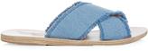 Ancient Greek Sandals Thais denim sandals