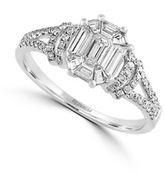 Effy 14K White Gold and 0.8 TCW Diamond Engagement Ring