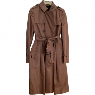 Burberry Silk Trench Coat for Women