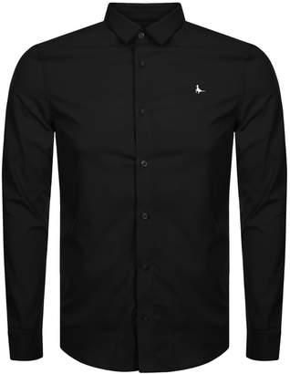 Jack Wills Hinton Stretch Shirt Black