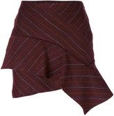 Isabel Marant Kimura pinstriped skirt