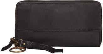 Frye AND CO. Jolie Zip Wallet (Black) Wallet Handbags