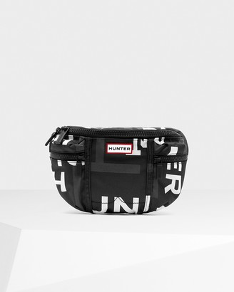 Hunter Original Exploded Logo Nylon Bumbag