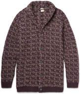 Massimo Alba Jacquard-knit Alpaca-blend Cardigan