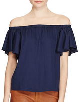Polo Ralph Lauren Off-the-Shoulder Top