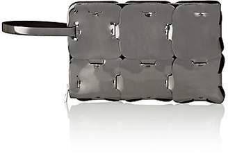 Paco Rabanne Women's Dragonne Leather Pouch - Gunmetal