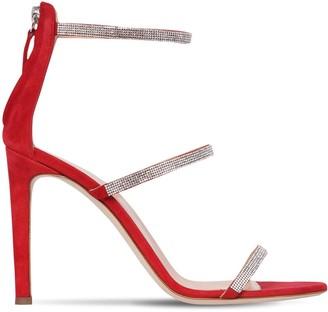 Giuseppe Zanotti 105mm Embellished Suede Sandals