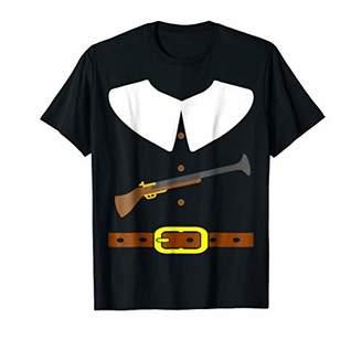 Hunter Turkey Pilgrim Gun Thanksgiving T-shirt