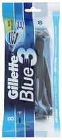 Gillette Blue 3 Disposable Razors - 8 pack