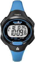 Timex Womens Blue Resin Strap 10-Lap Watch T5K5269J