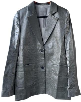 Humanoid Metallic Jacket for Women