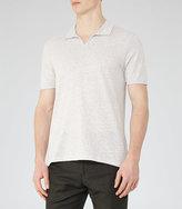 Reiss Marcelos Open Collar Polo Shirt