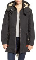 Woolrich Women's Wool Trim Parka With Detachable Liner