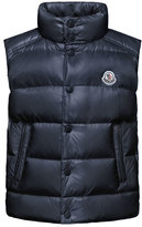 Moncler Tib Down Puffer Vest, Navy, Size 8-14