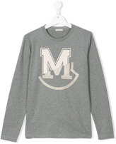Moncler logo top - kids - Cotton - 4 yrs
