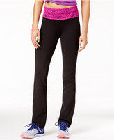 Material Girl Active Juniors' Lace-Waist Yoga Pants