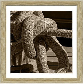 Vintage Print Gallery Nautical Knots In Sepia I Photograph
