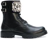 Rene Caovilla embellished boots