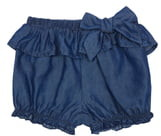 Habitual Rhyan Tie Front Denim Shorts
