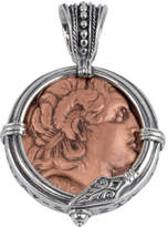 Konstantino Men's Sterling Silver & Copper Alexander the Great Pendant