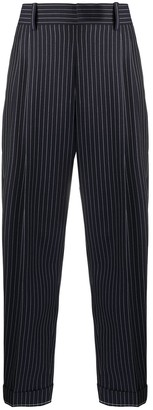 Chloé Cropped Pinstripe Trousers