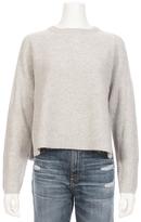 360 CASHMERE Bianca Cashmere Side Slit Sweater