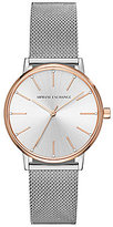 Armani Exchange Analog Mesh Bracelet Watch