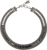 BCBGMAXAZRIA Baguette Stone Necklace