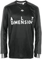 Adidas Originals By Alexander Wang longsleeved soccer T-shirt