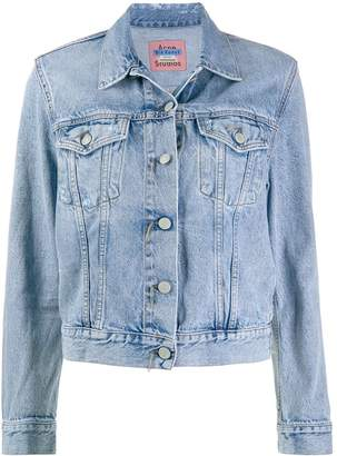 Acne Studios slim fitted jean jacket